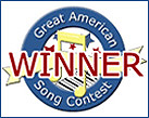 Winner Banner Great American Song Contest